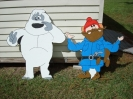 New Cut Outs :: Bumble & Yukon (Rudolph)