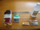 Supplies - Wire Nuts, Aluminum angle, Nuts/Screws, Zip Ties, Washers, Heat Sink Compound