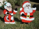 2006 Cutouts - Mr. & Mrs. Claus